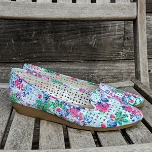 A2 by Aerosoles Parchment Floral Loafer Spring